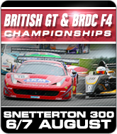 British GT and BRDC F4 Championships - Snetterton