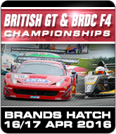 British GT and BRDC F4 Championships - Brands Hatch