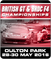 British GT and BRDC F4 Championships - Oulton Park