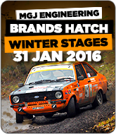 Winter Stages Rally - Brands Hatch