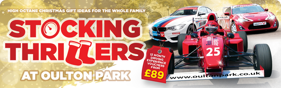 Christmas Driving Gifts at Oulton Park