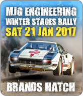 MGJ Winter Stages Rally - Brands Hatch