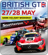 British GT and BRDC F3 - Snetterton