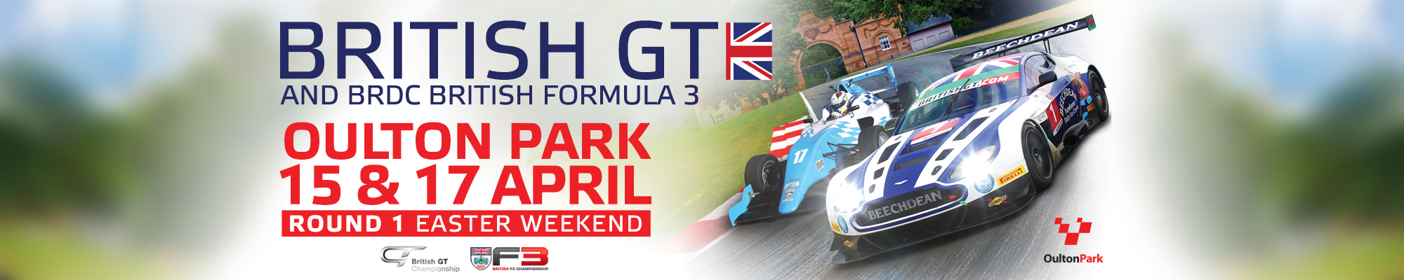 Easter British GT and F3 Championships