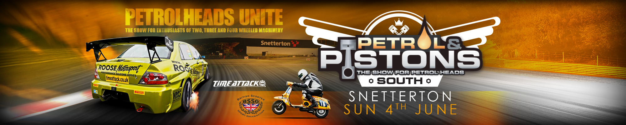 Petrol and Pistons South