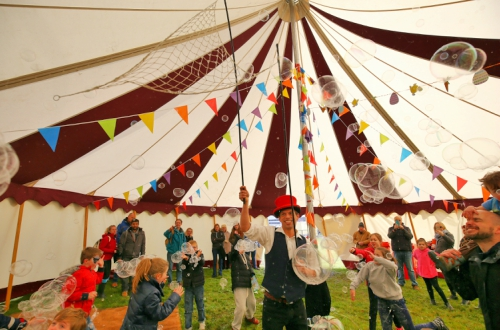 Big Top Circus Tent and Kid's Entertainment- Sunday