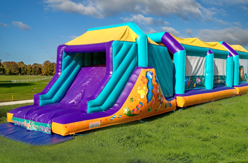 FREE Inflatable Obstacle Course