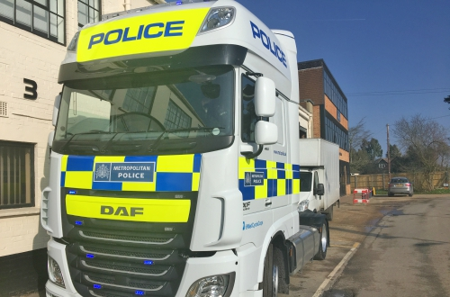 Police Exchanging Places Truck- Sat & Sun