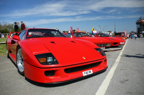 70th Anniversary Ferrari Display - Monday