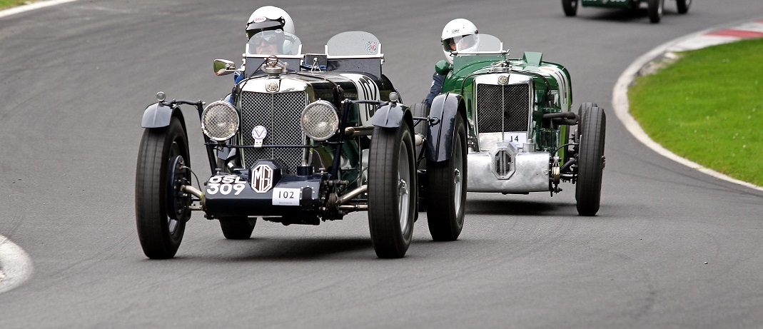 Triple-M Register MG vs Austin 7 Challenge