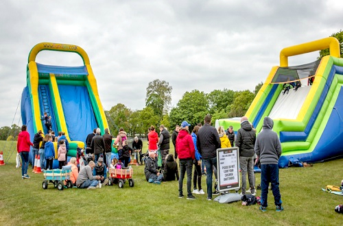 FREE Inflatable Attractions - Sat & Sun