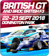 British GT and BRDC British F3 Championships - Oulton Park