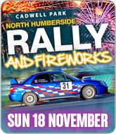 Stage Rally and Fireworks - Cadwell Park