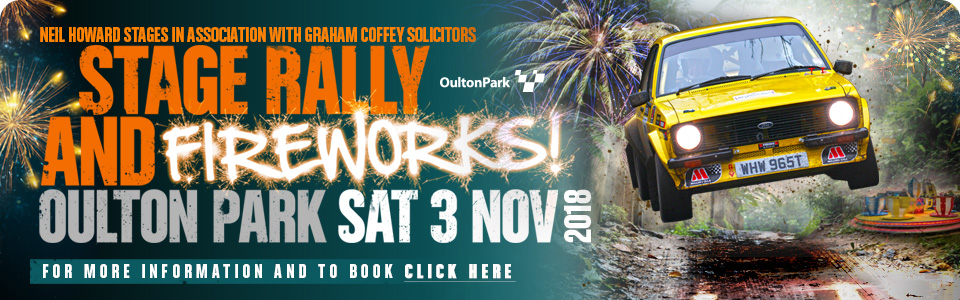 Rally and Fireworks - Oulton Park