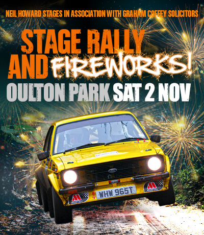 Oulton Park Rally and Fireworks