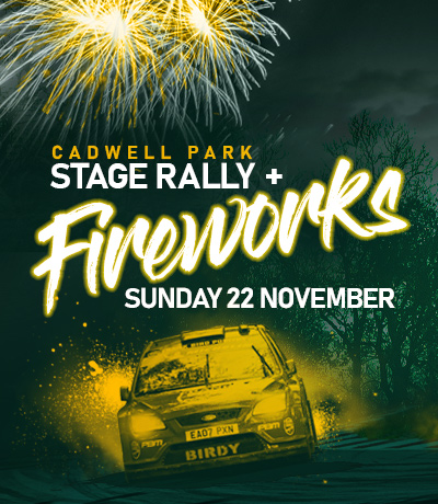 Cadwell Park Stage Rally and Fireworks