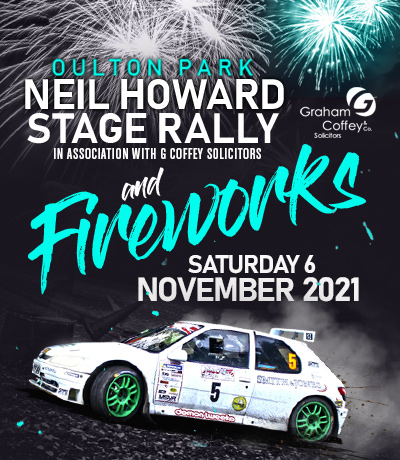 Oulton Park Stage Rally and Fireworks